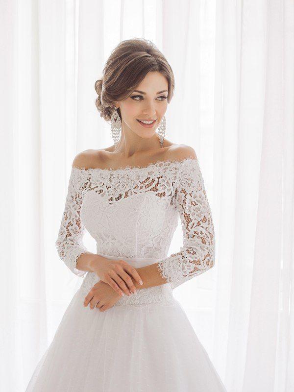 кружевное свадебное платье #свадебноеплатье #wedding