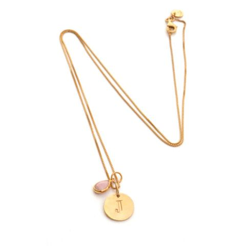 SysterP Beloved Necklace Chain Gold Smokey - Nordic Grace Accessories