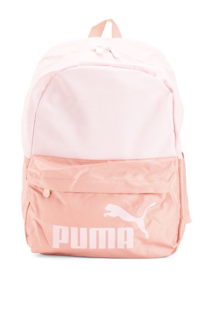 Puma women pink evercat school laptop backpack bag  PUMA  Backpack ... 0871bb8384ced