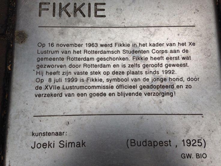 FIKKE op de Oude Binnenweg.