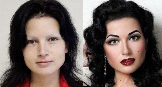 14 avant/après make-up HALLUCINANTS - Confidentielles