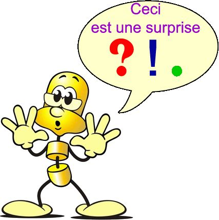 Une phrase commence par une majuscule et se termine par un point (.), un point d'interrogation (?) ou un point d'exclamation (!). Une phrase peut être: déclarative interrogative exclamative impérative