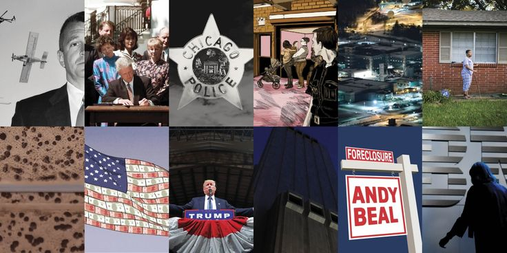 Revisit stories that bring our present reality into sharper focus, covering political corruption, environmental crimes, military adventurism, and more.