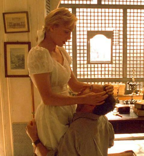 Count László Almásy and Katharine Clifton from The English Patient
