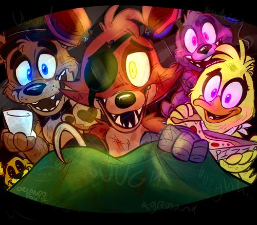 Five Nights at Freddy's - happy ending for everyone!