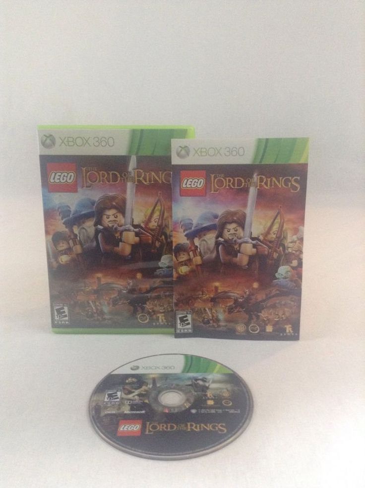 2012 Tested & Working Xbox 360 Lego The Lord Of The Rings Video Game Adventure #Xbox360