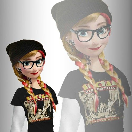 Anna la reine des neiges fond d'écran Disney swag   We Heart It   anna and frozen