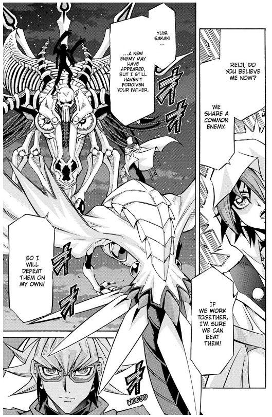 Yu-Gi-Oh! Arc-V Manga Scale 18: An Unkown Enemy! - Album on Imgur