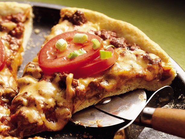 Cheesy Sloppy Joe Pizza