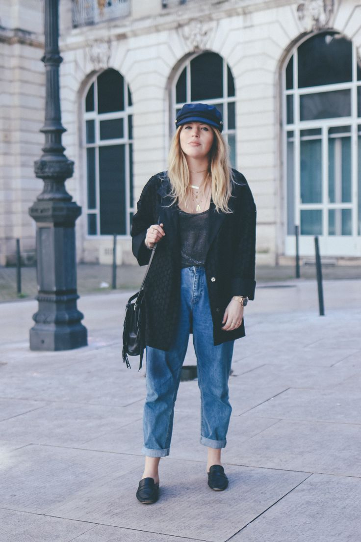 Casquette gavroche Pimkie Jean mom Bershka More and links : theoverview.fr