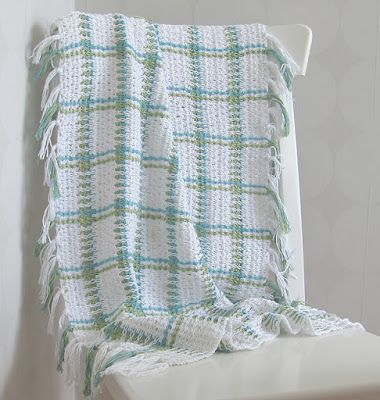 Woven Baby Blanket Patterns at Yarn.com