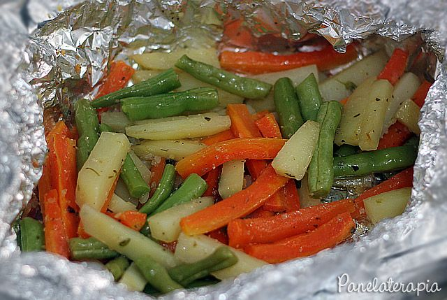 Papelote de Legumes ~ PANELATERAPIA - Blog de Culinária, Gastronomia e Receitas