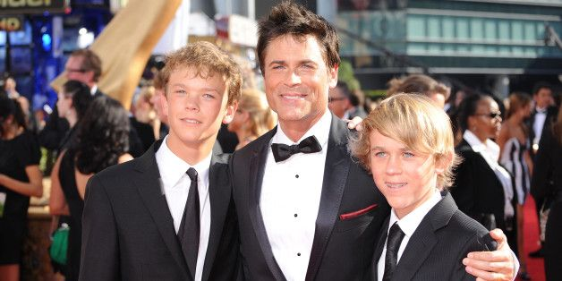 Rob Lowe On Sending His Son Off To College