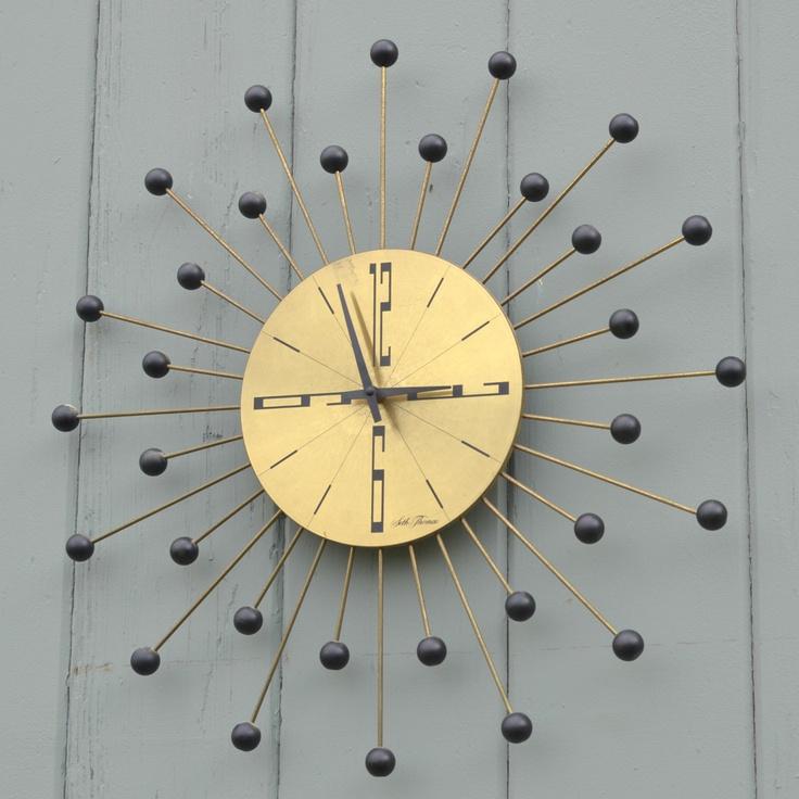 Les 831 meilleures images du tableau retro is the way to for Horloge eames
