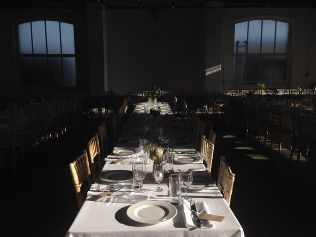 Wedding Room Inspiration Simple Clean Lines In Day Lit By Warm Festoons And