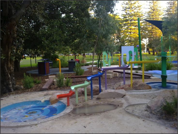 Mueller Street Playground, Subiaco Fenced Parks in Perth - Toddler Playgrounds