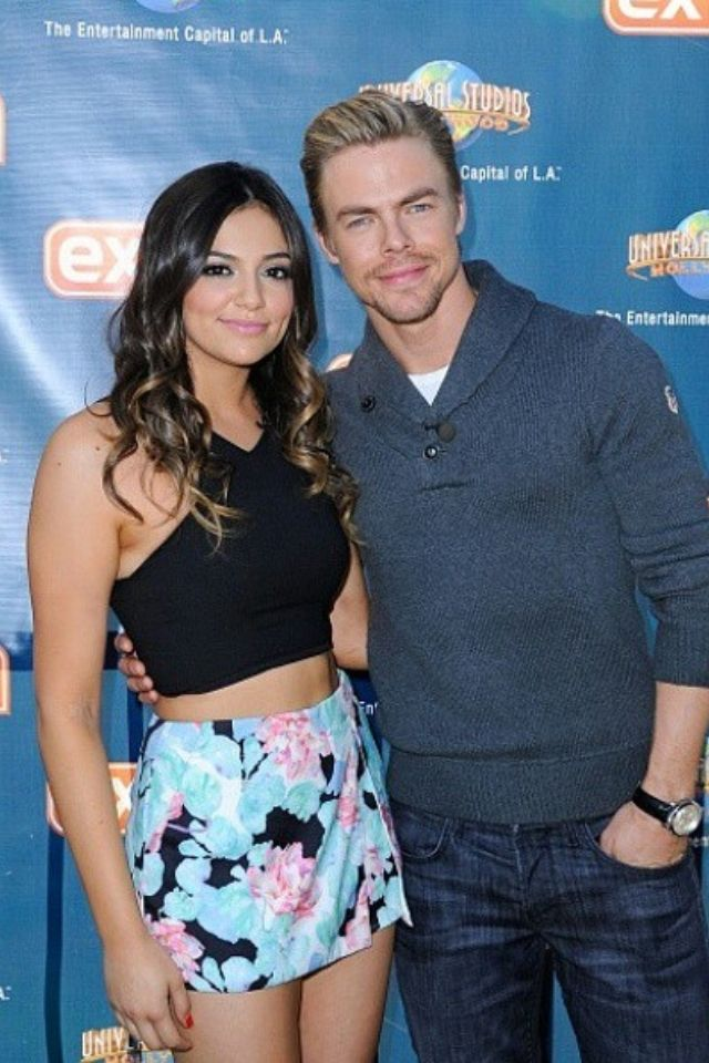 dwts 2014 bethany and derek dating