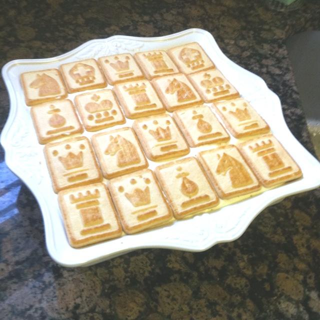 Our copycat pinterest chessman banana pudding!