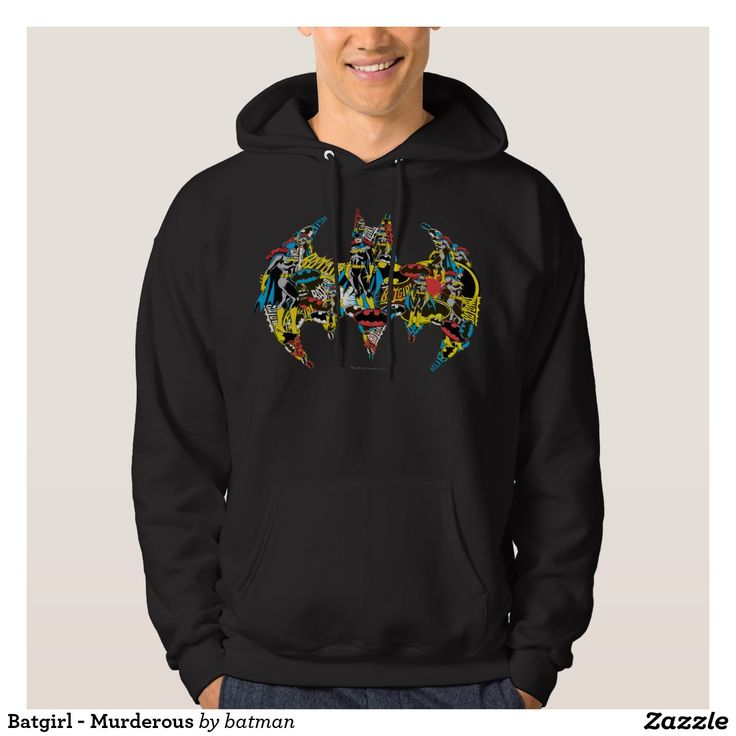 Batgirl - Murderous Hoody. Regalos Padres, fathers gifts, #DiaDelPadre #FathersDay