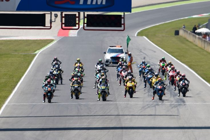 Grid, Italian Moto2 Race 2015