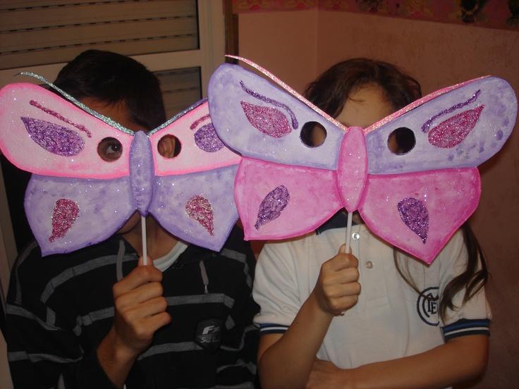 Mascaras De Mariposas De Mi Autoria Mariposas
