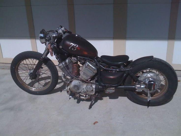 yamaha virago 535 bobber rat bike image motor bikes. Black Bedroom Furniture Sets. Home Design Ideas