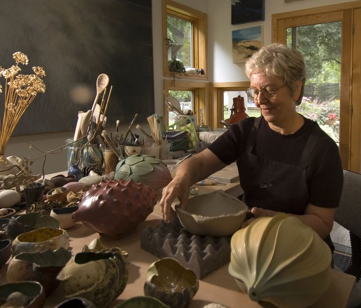 """To quote contemporary ceramic artist and Guild Trip artisan, Alice Ballard: """"My art is a reflection of my relationship with natural forms. It is often the metamorphosis of Nature's forms, as they change from season to season, that attracts me to that universal world in which differing life forms share similar qualities."""" You find Alice's beautiful pieces on www.guildtrip.com. Coming November 2015."""