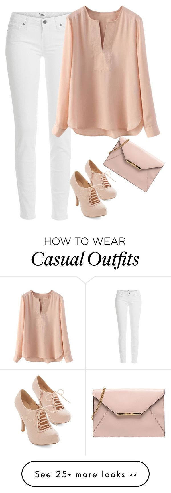"""Casual College Outfit"" by cloudybooks on Polyvore"