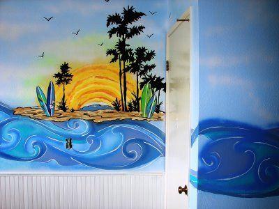 """Cassidy Clark: """"Surfer Girl"""" Bedroom"""