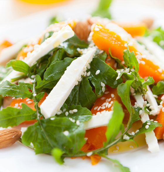 Maxines Burn : Roast Pumpkin & Feta Salad
