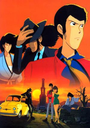 Lupin the 3rd - Great Japanese franchise. Started as a manga then tv series and some feature films to boot
