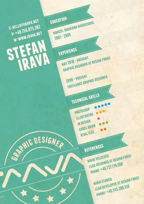 12 best Resume Design images on Pinterest Resume ideas, Resume - nice resume examples