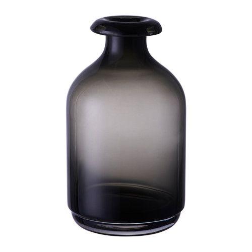 ÅTGÅNG Wazon IKEA Szklany wazon jest wykonany ze szkła dmuchanego.