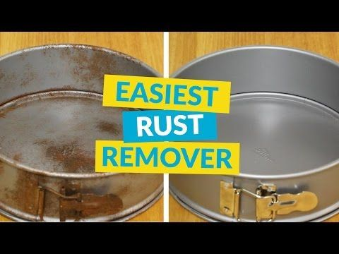 The Easiest Rust Remover I use to drink this stuff!  Yikes