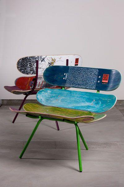 Bruthaus Skateboard Lounge Chairs