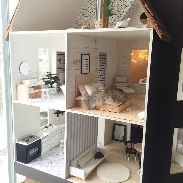 Related Image Miniature House Barbie Doll House