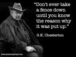 g.k. chesterton quote - Google Search