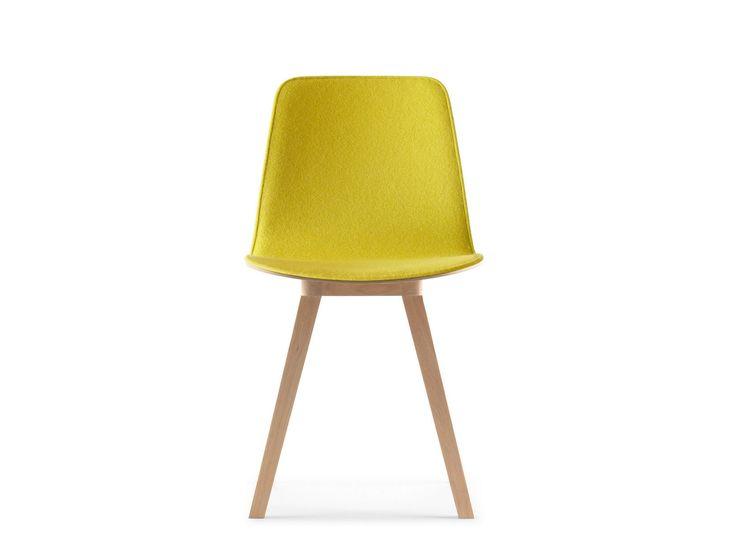 Upholstered fabric chair Kuskoa Collection by ALKI   design Jean Louis Iratzoki