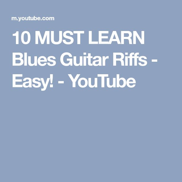 10 Must-Know Rock Guitar Riffs - TakeLessons Blog
