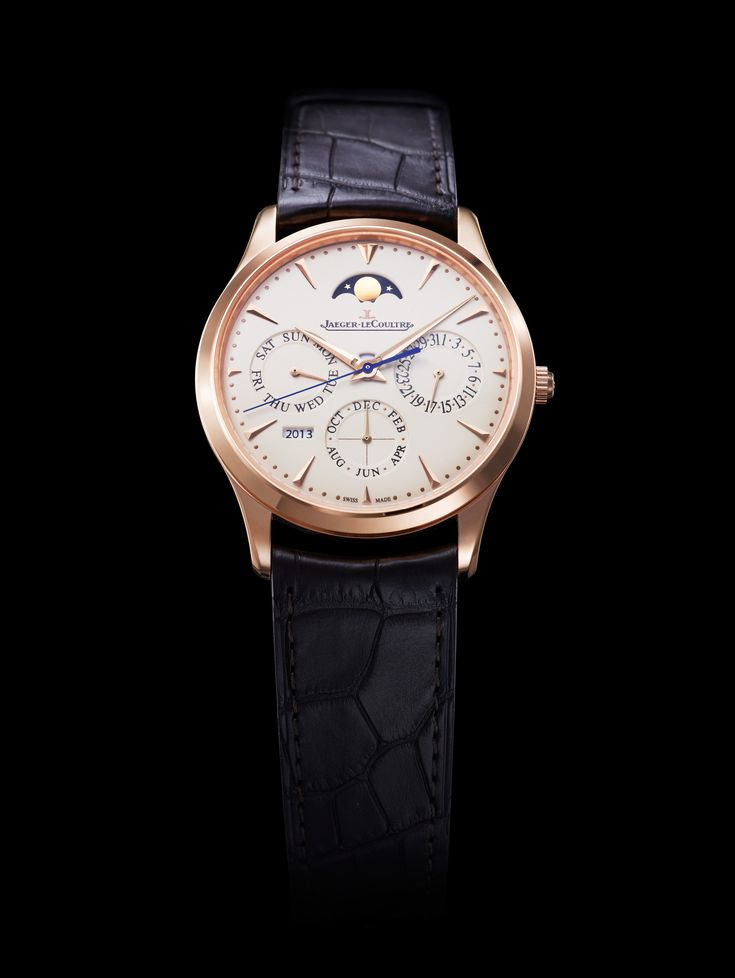 Jaeger LeCoultre Master Ultra Thin Perpetual Rose Gold