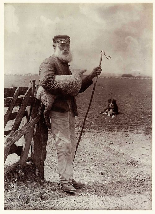 Colonel Joseph Gale - Ninety and Nine, circa 1890  [via the National Media Museum]