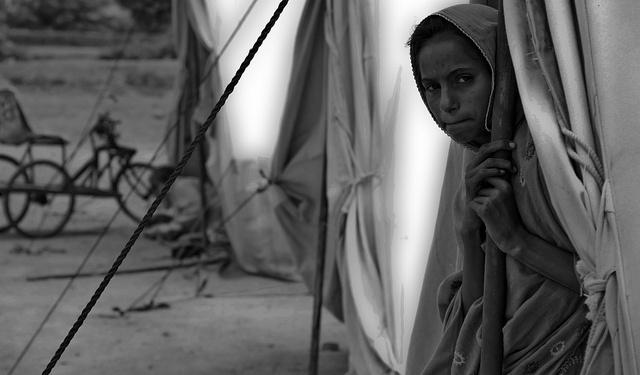 Waiting for Hope - IDP of Flood 2010 - Sind - Pakistan