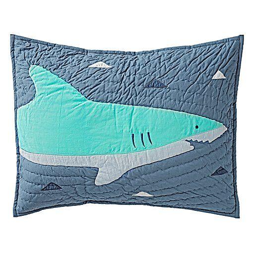 Shark Bait Bedding | The Land of Nod
