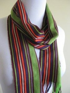 Colorful, lightweight Ikat Scarf from Lombok, Indonesia