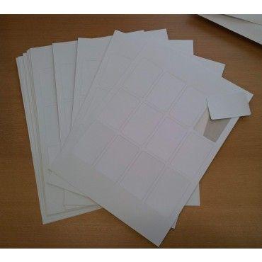 Blanke spillkort - kan brukes i printer. Til å lage egne spill.