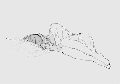 """""""Please, let me go back to sleep..."""" she mumbled plaintively"""