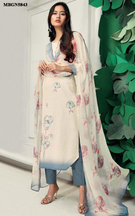 1f1b05ba486 Cream Linen Suit Set Online Shopping For Ethnic Wear  Buy Designer Sarees