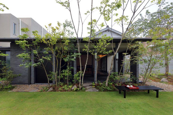 平屋・二世帯住宅 枝垂れ桜のある家 アーキッシュギャラリー