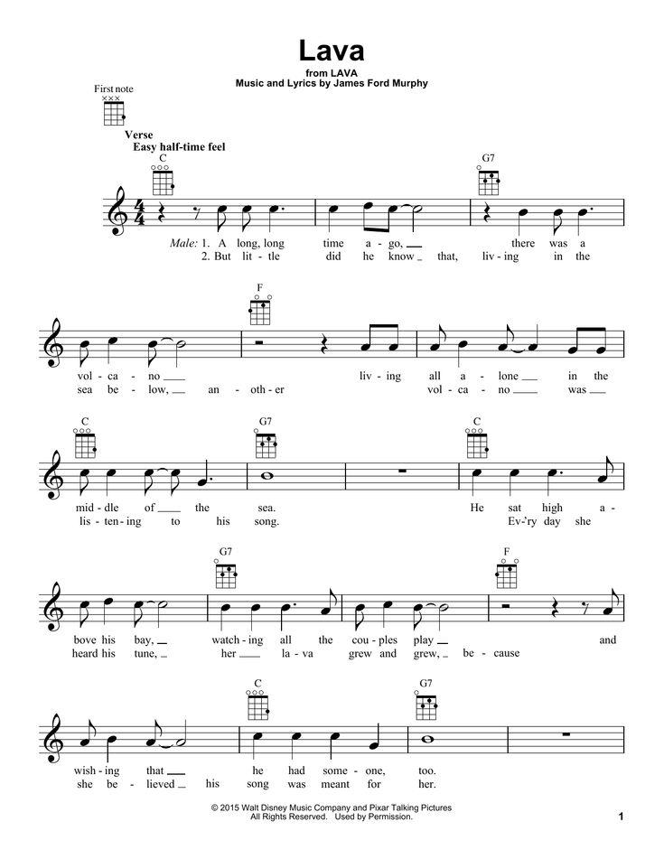 Lava by James Ford Murphy - Ukulele - Guitar Instructor