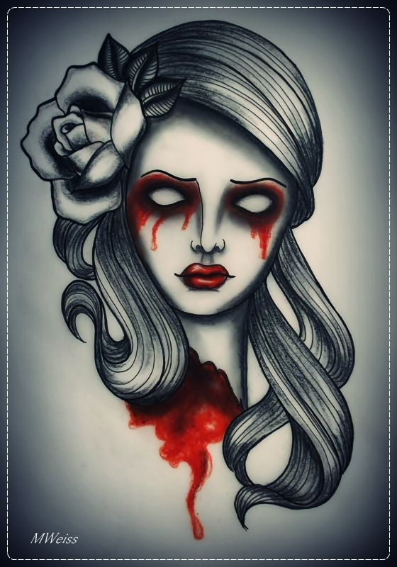 250 best images about tattoo old school roses on pinterest for Old school day of the dead tattoo
